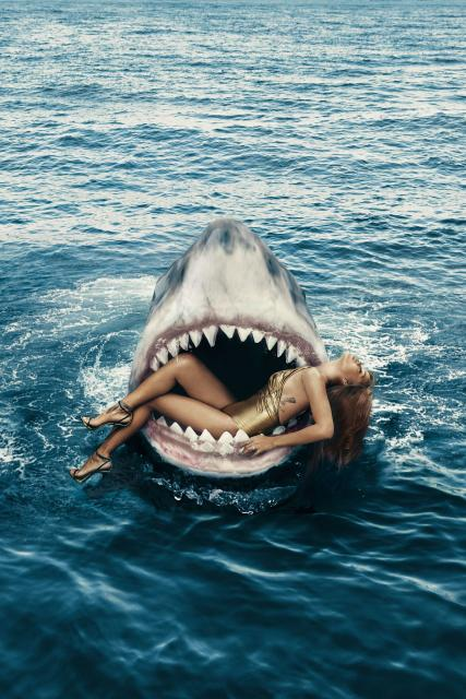 la capitaine du jour : jaws
