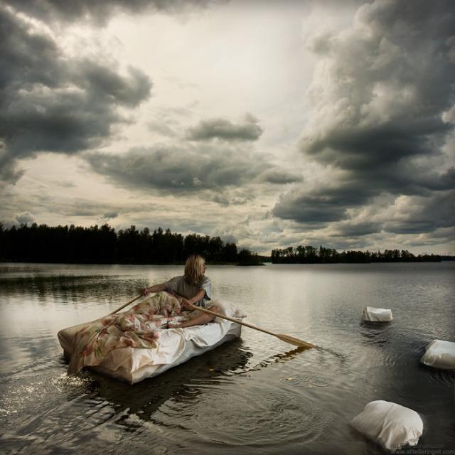 wet dreams on open water