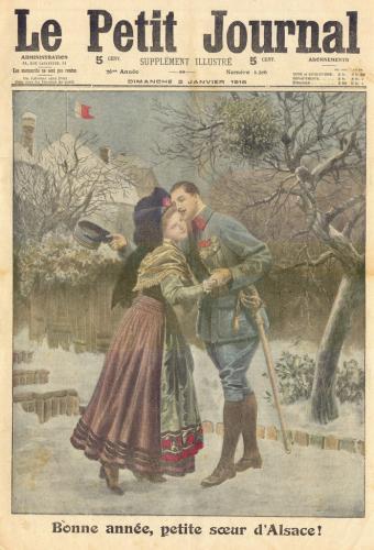 Bonne année, petite soeur d'Alsace!