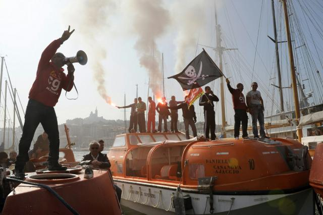 la grève des pirates
