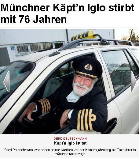 la capitaine iglo est mort. rip
