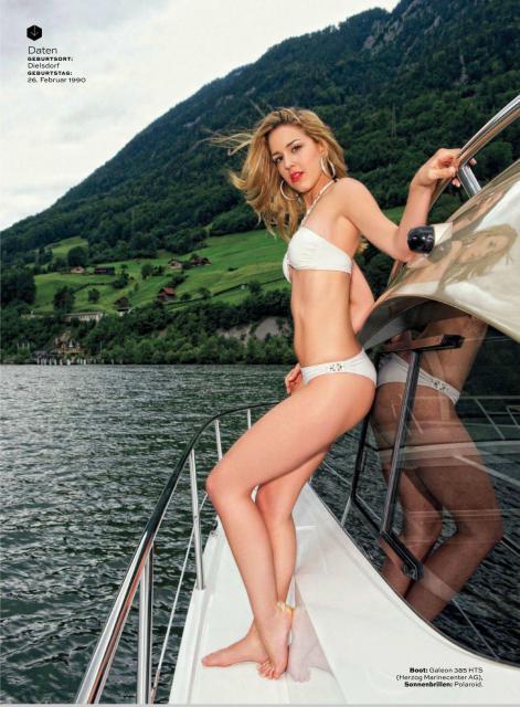 la capitaine du jour : miss terre suisse