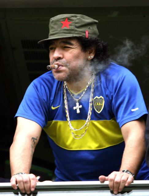 le capitaine du jour : diego armando maradona
