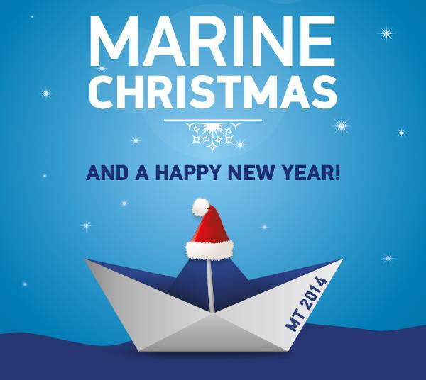 marine christmas & happy ny