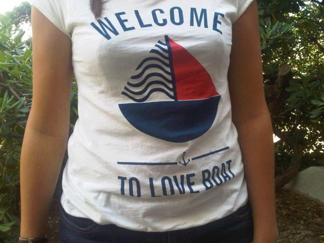 la capitaine du jour : bienvenue (à bord du) love boat