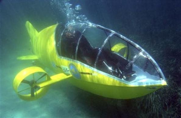 engins sous-marins du jour