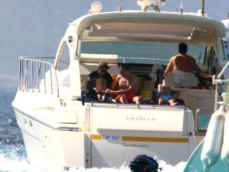 yacht + foot+ girls = ?