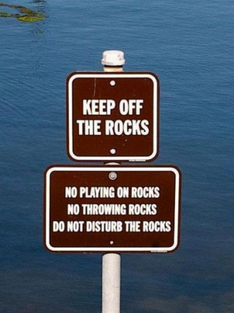 thau and the rocks