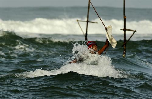 le pêcheur sri-lankais...