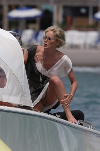 sharon stone à Cannes sur..
