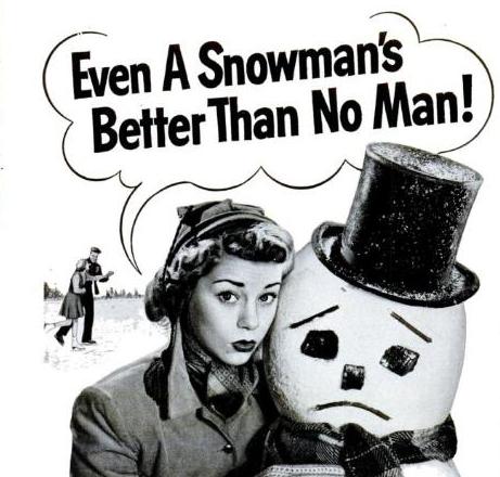 neige + journée de la femme + célibat?