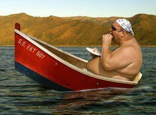 le capitaine du jour : ss fat guy