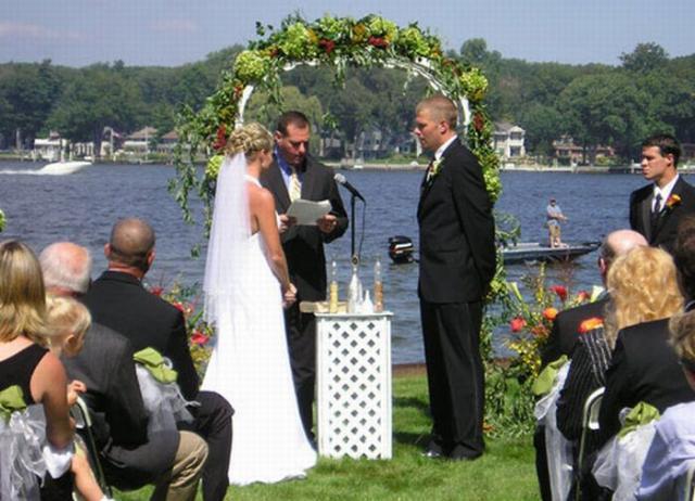 le mariage, vu du thau